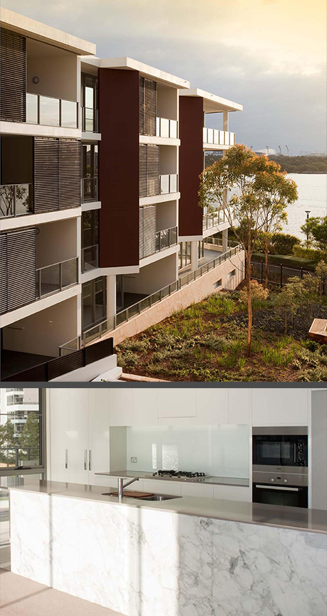 Waters Edge Apartments- Rhodes, NSW