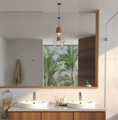 How to design a bathroom with room to grow