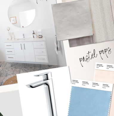 How to make a moodboard for your bathroom